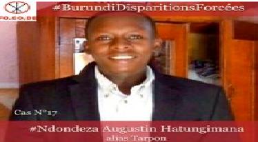 Disparition forcée de M. Augustin Hatungimana (Tarpon)