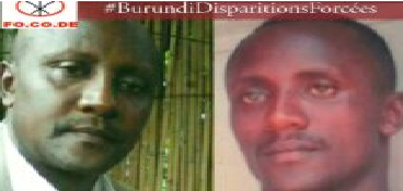 Disparition forcée d'Armand Nsabimana, un ancien officier de l'armée burundaise.